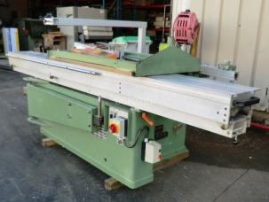 SCIE A FORMAT LAME FIXE CHARIOT 3000MM