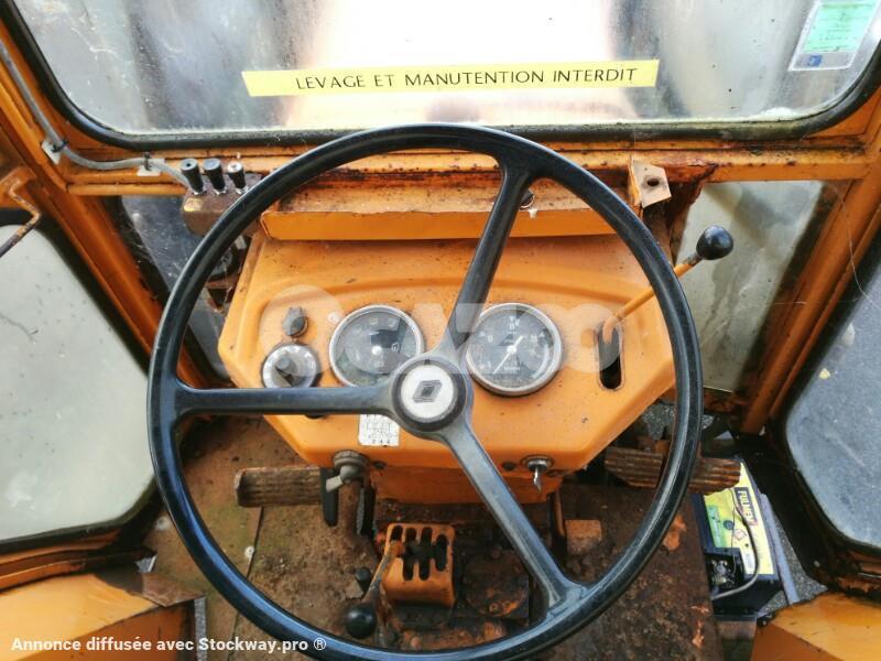 tracteur agricole renault 462 occasion  u00e0 vendre