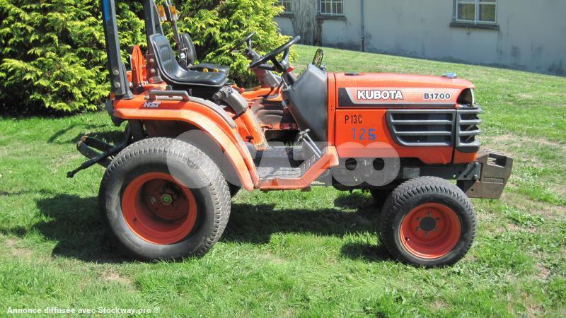 micro tracteur kubota b1700  micro  50cv occasion  u00e0 vendre