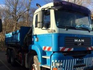 CAMION BENNE GRUE 6X4 (MCB014)