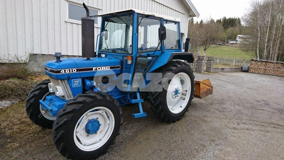micro tracteur ford 4610 1988 occasion  u00e0 vendre