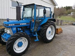 Micro tracteur Ford 4610 1988