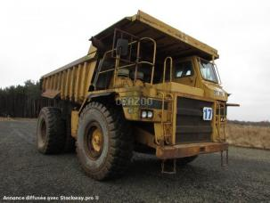 Tombereau rigide Caterpillar 773B