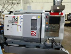 2009 HAAS SL-20T CNC 2-AXIS TURNING CENTER LATHE