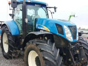 Tracteur agricole New Holland T7 - Tier 4A